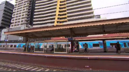 South Yarra Train Station can expect an upgrade if the Andrews Government is victorious this election. (9NEWS)