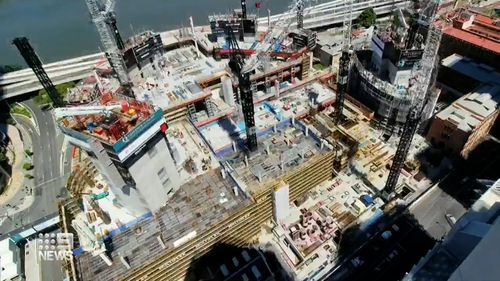 In an impressive millstone of COVID recovery for Queensland, Brisbane is going through a building boom – with cranes becoming a more common sight in the city's skyline.