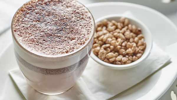 Coco Pops hot chocolate