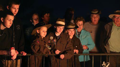 Gallipoli dawn service 'rejects terrorism'