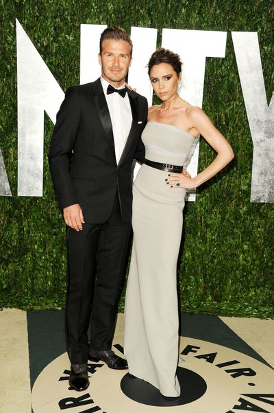 <p><strong>Cover couple</strong></p> <p>David and Victoria Beckham at the 2012 Vanity Fair Oscar Party  on February 26, 2012.</p>