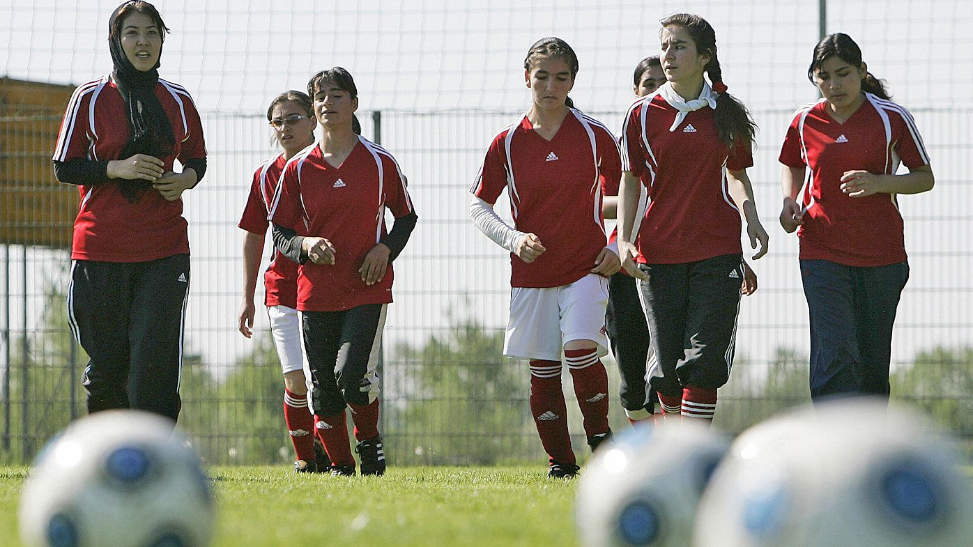 Afghanistan female team