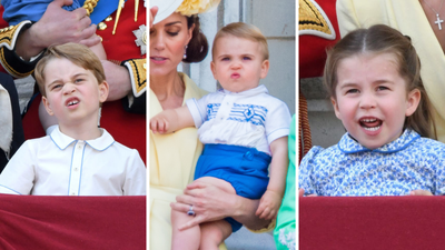 Trooping the Colour: All the adorable moments from George, Charlotte and Louis