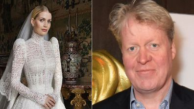 Kitty Spencer and father Earl Spencer wedding