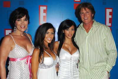 ...just in time for the 2009 launch of <i>Keeping Up With the Kardashians</i>. Looks like Kris has had a little nip/tuck too!