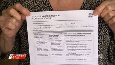 Aussies who've had COVID-19 left in limbo because they can't get vaccinated