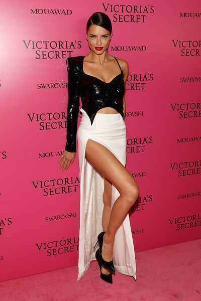 Adriana Lima in Muglerat the 2017 Victoria's Secret Fashion Show After Party