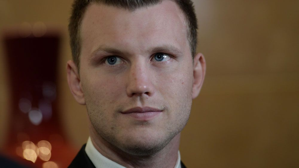 Jeff Horn becomes the first boxer to win the Don Award.(AAP)
