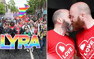 Thousands of Northern Irelanders rally for same-sex marriage