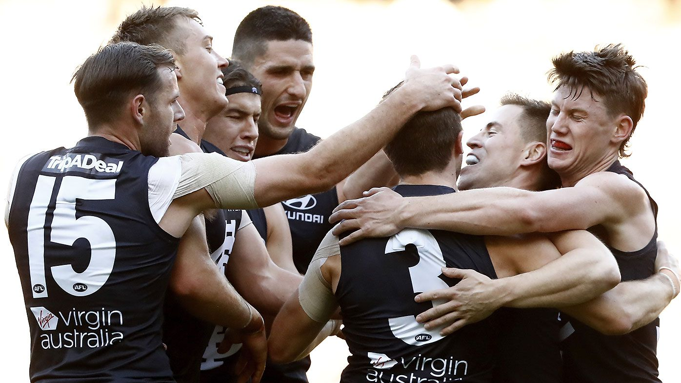 Zac Williams stars in halfback role as Carlton ends 21-year MCG drought against Hawthorn