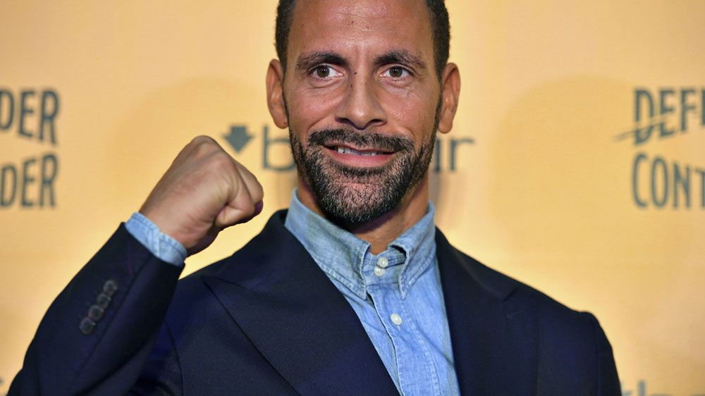 Former England footballer Rio Ferdinand turns to boxing to fight grief