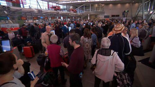 Jetstar airport IT outage flight delays