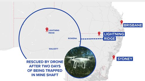 Lightning Ridge is in a remote part of northern NSW