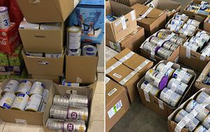 Baby formula, cosmetics and groceries among $175,000 of stolen goods seized, three people charged