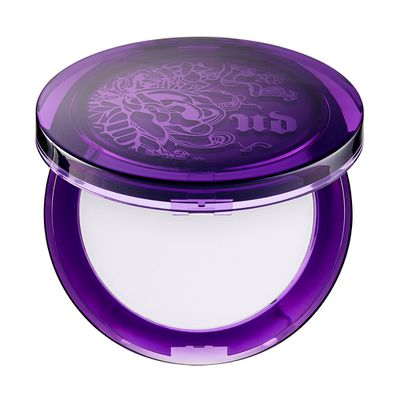 "<a href=""http://mecca.com.au/urban-decay/de-slick-mattifying-powder/I-022494.html"" target=""_blank"">Urban Decay De-Slick Mattifying Powder, $52.</a>"