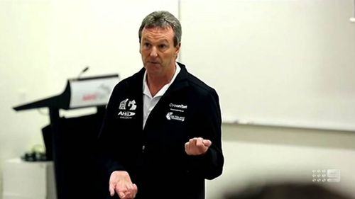 The research has been partly paid for by AFL legend Neale Daniher's Fight MND foundation - who lives with MND.