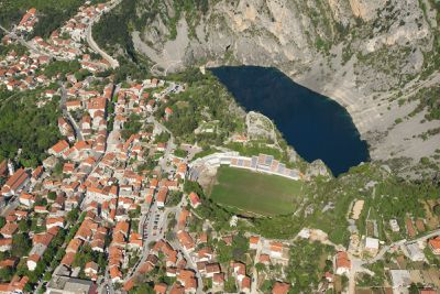 <p><strong>Stadion Gospin Dolac, Croatia</strong></p> <p> </p>