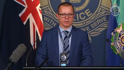 Detective Superintendent Craig Morrow revealed that police were able to negotiate Ms Wallis' surrender after getting in touch with a family member who was in the UK.
