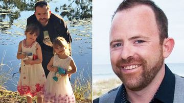 Brad Smyth left behind two daughters aged four and six.