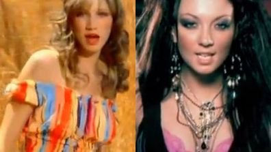 "With Ricki-Lee's sexy new album 'Dance In The Rain' out this week, we found ourselves in a YouTube-shaped hole searching for her first ever music video. And we've found it, just for you FIXers!<br/><br/>But don't think Ricki's the only pop star who overdid the crimper in her first video clip.... (or the metallic eyeshadow for that matter Jessica Mauboy!)<br/><br/>From Delta Goodrem's racy escapades with her buff ""boyfriend"" to Samantha Jade's fierce <i>Step Up</I> moment with Channing Tatum, flick through our fave #ThrowbackThursday vid clips... <br/>"