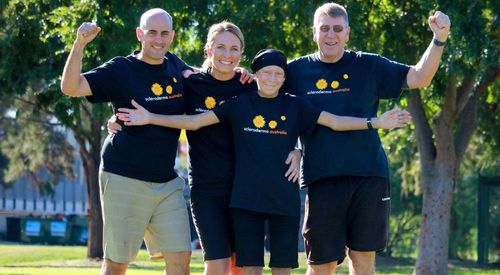 The family has already raised more than $40,000 for scleroderma research.