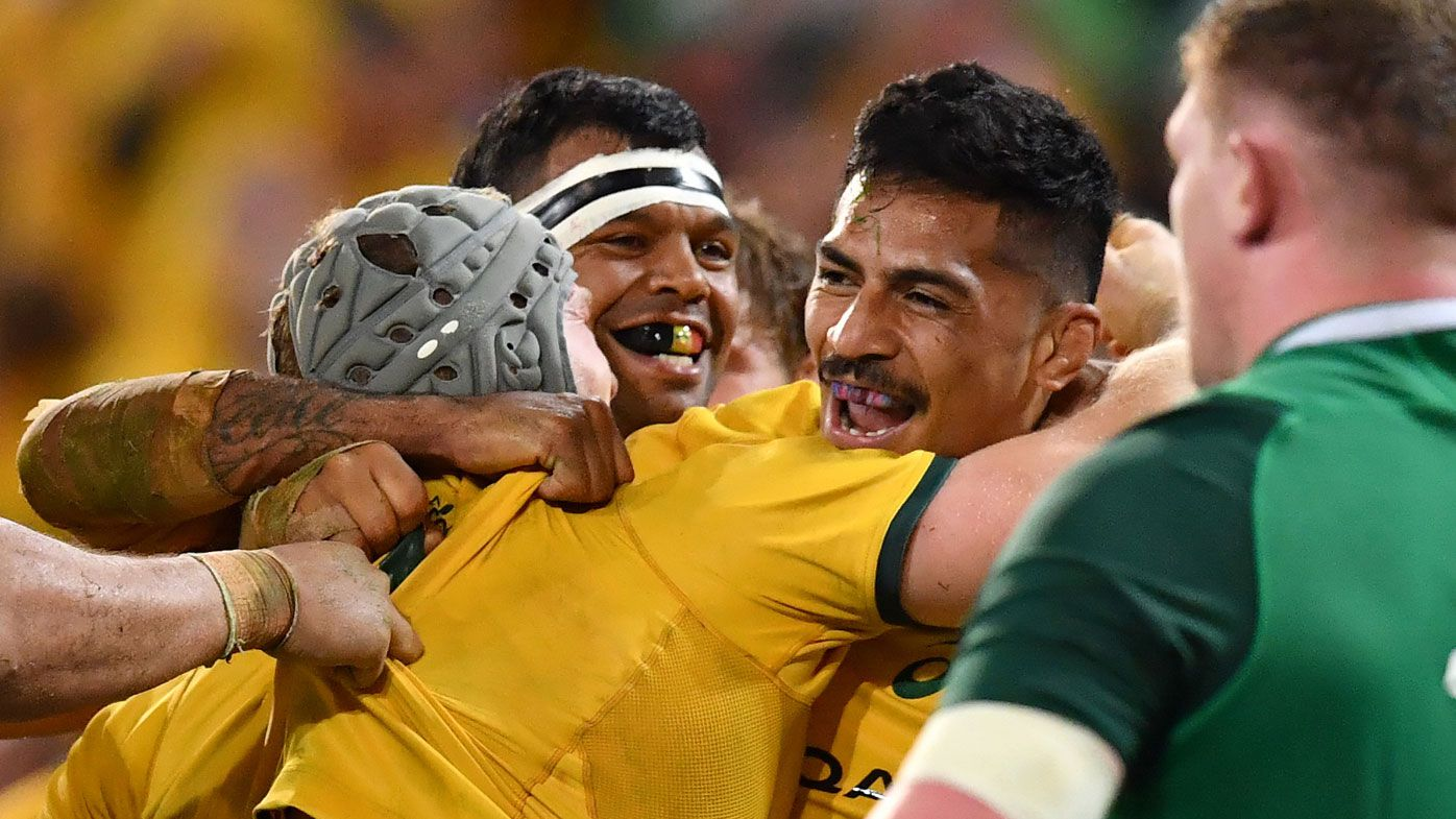 Pocock stars as Wallabies upset Ireland