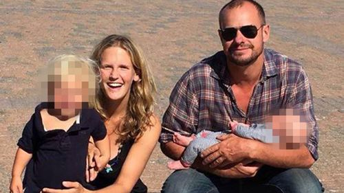 Tanja Ebert, 23, is suspected to have been killed by her husband Michael Burdon. Picture: Supplied