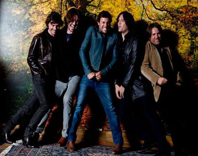 Exclusive never-before-seen pics of legendary Aussie rockers Powderfinger from throughout their career.<br/>These photos will appear in the band's upcoming biography <i>Footprints</i>.