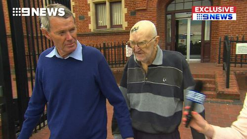 Brian Ross, 72, was released from jail after nearly  month behind bars for allegedly hitting a motorcyclist in his car and driving away.