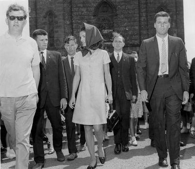 Jacqueline Kennedy Onassis oozing elegance.