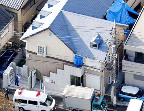 Nine dismembered bodies were found inside the apartment. (AAP)