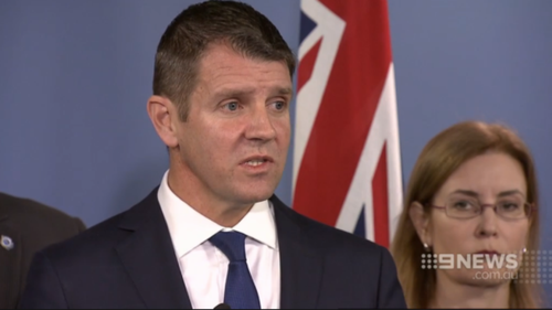 NSW Premier Mike Baird announces changes to bail laws. (9NEWS)