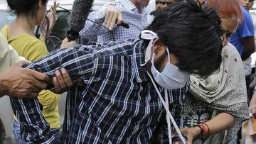 Puneet Puneet walks into court in New Delhi in 2005. (AAP)