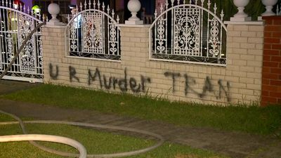 House targeted by arson and graffiti in fifth attack