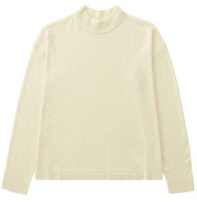 """<a href=""""http://www.uniqlo.com/au/store/w-s-sweater-1765060016.html"""" target=""""_blank"""">Uniqlo knit, $49.90, at Uniqlo.com</a>"""