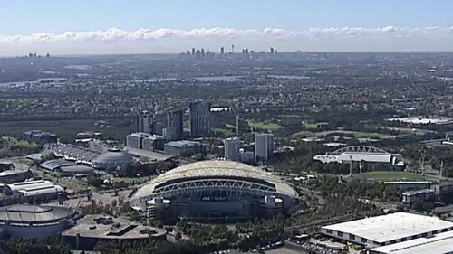 ANZ Stadium at Olympic Park will also be knocked over and rebuilt into a 75,000-seat stadium.