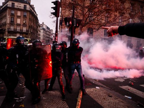 Transport networks across France crippled as strikes enter third day