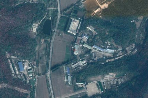 Sanumdong nuclear missile factory outside Pyongyang. Picture: Google Earth