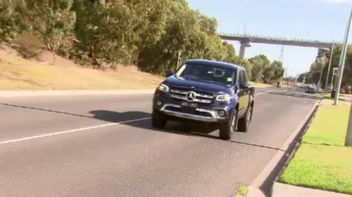 Mercedes has unveiled its all new X-Class. (9NEWS)