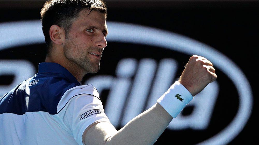 Djokovic marks Open return with easy win