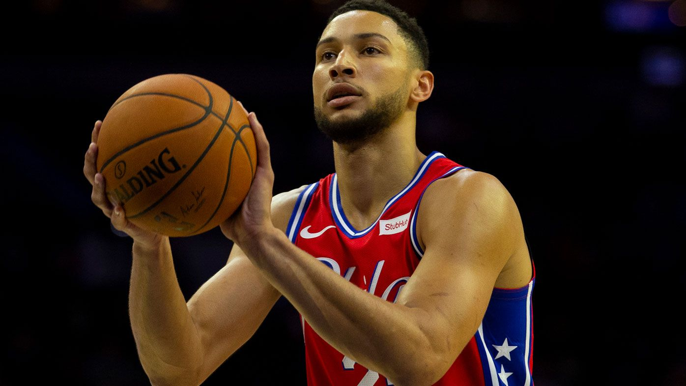 Simmons locked and ready to shoot