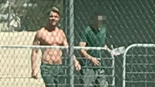 Oliver Curtis in reported clash with fellow prisoner