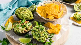 Guacamole trio (three ways)