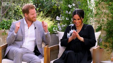 The controversial Meghan and Harry interview with Oprah that led to Morgan's exit.
