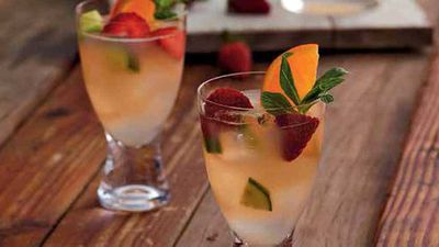 "Recipe:&nbsp;<a href=""https://kitchen.nine.com.au/2016/05/05/15/36/garden-fizz-cocktail"" target=""_top"">Garden fizz cocktail</a>"