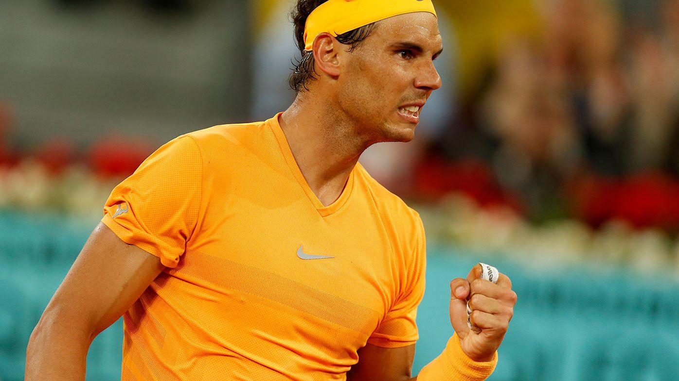 Rafael Nadal breaks John McEnroe's record at Madrid Open