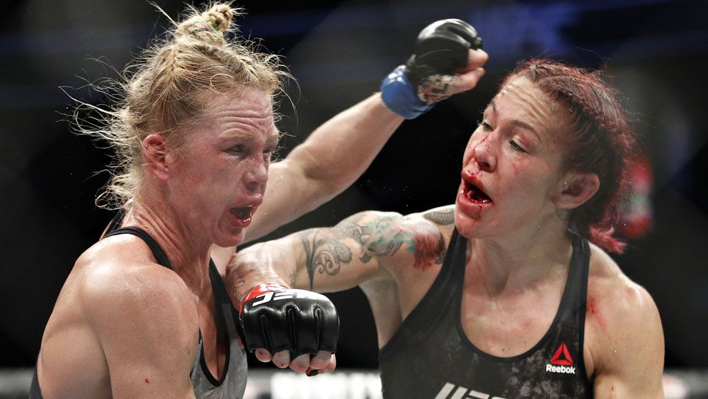 Cris Cyborg successfully defends featherweight title after beating Holly Holm by unanimous decision at UFC 219