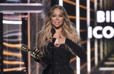 Mariah Carey at the Billboard Music Awards 2019