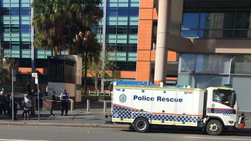 Government buildings evacuated in Sydney's inner-city as a 'precaution'