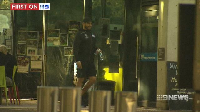 Inglis returns to training